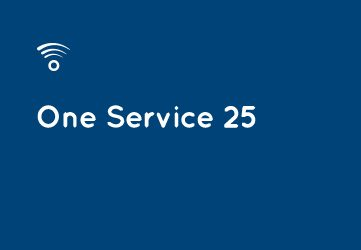 ONE SERVICE 25